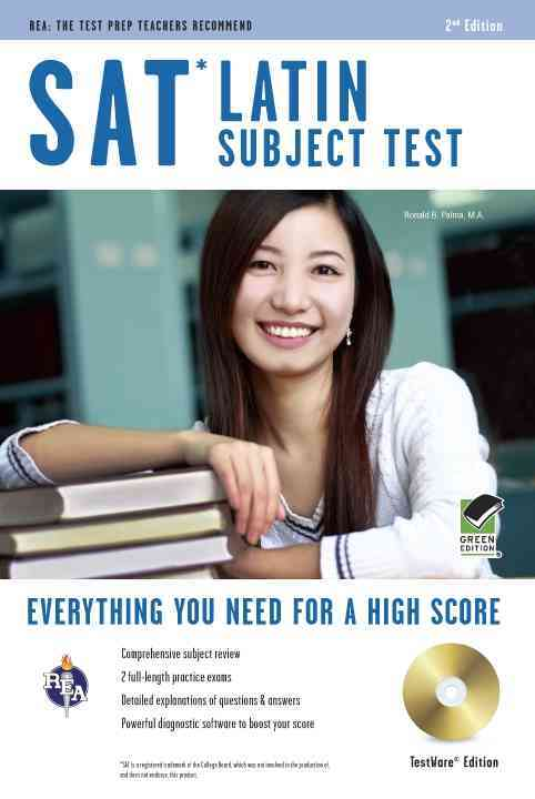 Sat Subject Test Latin By Palma, Ronald B